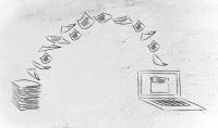 تحويل نص مكتوب بخط اليد الى نص الكتروني