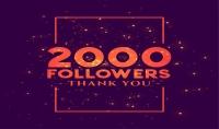 زيادة عدد متابعين الانستجرام لديك 2000 فى يومين فقط