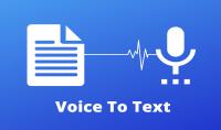 تفريغ البيانات من وإلى ملفات صوتيه ونصوص