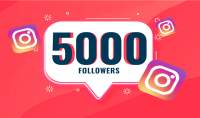 إضافة 5000 متابع انستقرام   حقيقي