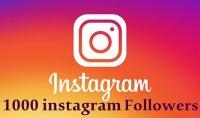 أقدم لك 1000 متابع انستجرام instagram مضمون وسريع جدا.
