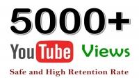5000 مشاهدة يوتيوب جودة عالية