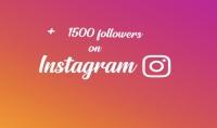 1500 متابع على أنستغرام  quot;متابعين بصور ومنشورات على حساباتهم quot; مع ضمان شهر