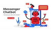 chatbot إنشاء بوت ماسنجر احترافي في فترة صغيرة