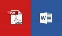 تفريغ وتنسيق أي ملفات PDF إلى ورد