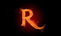 ساقوم بتصميم الكلمات او الحروف باستخدام النار ب5$