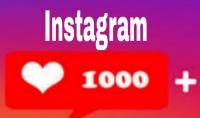اضافة 1000 لايك على منشورك بالانستقرام