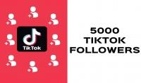 إضافة 5000 متابع تيك توك لحسابك متابعين لديهم صور ومنشورات مع الضمان