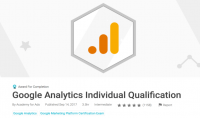 دليلك للحصول على شهادة معتمدة  Google Analytics Individual Qualification Certification