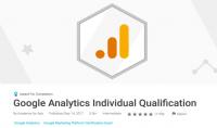 دليلك للحصول على شهادة معتمدة  Google Analytics Individual Qualification Certification