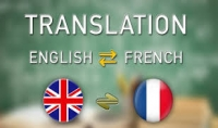ترجمة النصوص والمقالات الى اللغة الفرنسية والانجليزية