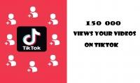 حصريا 000 150 ألف مشاهدة على تيك توك ضمان لمدى الحياة مع خاصية التوزيعة