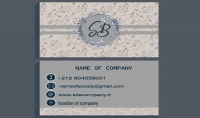 تصميم بطاقة الأعمال