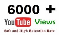 احصل علي6000 مشاهده عالية الجوده علي فيديوهاتك علي اليوتيوب