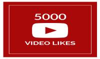 5000 يوتيوب فيديو لايك