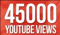 اقدم لك 45000 مشاهدة لفيديو اليوتيوب الخاص بك على اليوتيوب