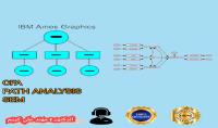 التحليل الاحصائي باستخدام برنامج AMOS