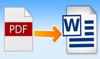 يمكنني تحويل اي صورة مكتوبة أو أي ملف PDF الي ملف word بكل دقة