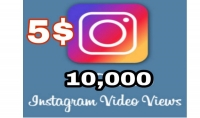احصل على 10000مشاهده انستقرام حقيقيه وعربية لاي منشور تريده مقابل 5$