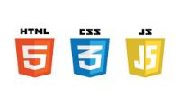 عمل صفحه الكترونيه html --css - js
