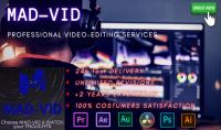 تحرير و مونتاج احترافي لفديوهات حسب الطلب تصل ل20 دقيقة في 24 ساعة و ب5 دولار فقط