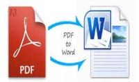 تحويل ملف PDF إلى Word