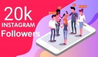 جلب 15 ألف متابع حقيقي على Instagram
