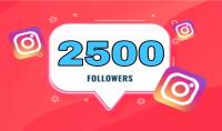 إضافة 2500 متابع انستقرام 100% حقيقي هدية للمشتري الأول