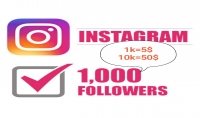 سأوفر لك أزيد من 1000 متابع حقيقي من جميع الدول