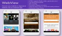 تحويل اي موقع ويب او قناة يوتيوب او صفحة فيس لتطبيق اندرويد خاص