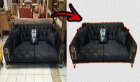 ازالة خلفية مفروشات واثاث منزل   كل 3 صور = $5