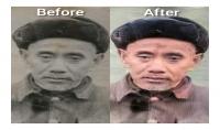 ترميم و إصلاح الصور القديمة و التالفة