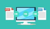 تفريغ وتحويل نصوص من ملفات PDF الي WORD بـ5$