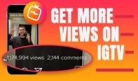 2000 مشاهدة على فيديو IGTV انستغرام
