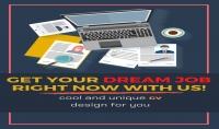 سأقوم بتصميم سيرة ذاتية احترافية لمساعدتك للحصول على وظيفة احلامك.