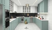 تصميم مطابخ و غرف معيشة كل 3 متر 10 $