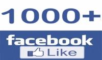 1000 اعجاب عربي حقيقي لصفحتك على فيسبوك