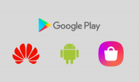 رفع التطبيقات على متاجر Google Play  Samsung Store   Huawei