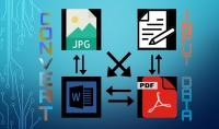 تحويل صيغ الملفات  pdf  word  jpg  png   ...  إدخال بيانات