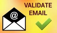 فحص ايميلات البريد الالكتروني واستخراج الايميلات المتاحة
