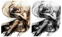 إزالة الخلفية من الصور و تحويل الصور من ألوان الي ابيض واسود بدقه عاليه