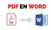 تحويل ملفات PDF الى ملفات الوورد
