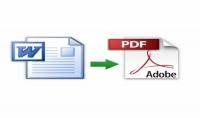 تحويل ملف pdf إلي word والعكس