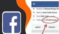 1000 متابع 1000 إعجاب لصفحتك عبر فيسبوك 1000 متابع لحسابك الشخصي 1000 عضو قروب   سعر الخدمة :5$