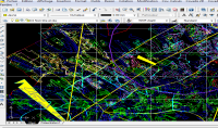 dessiner des plans topographiques et faites le calcul pour extraire les coordon eacute;