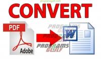 تحويل ملفات من صيغة PDF إلى صيغة WORD...بدقة العمل وسرعة في الإنجاز...