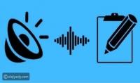 تفريغ المقاطع الصوتيه الي ملفات وورد و bdf