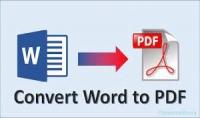 تحويل ملف من نوع Word إلى ملف من نوع PDF