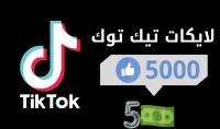 لايكات تيك توك حقيقي ومضمون 100%