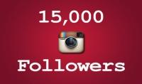 تزويد حسابك على الأنستغرام ب 000 15 متابع مع ضمان لمدة شهر